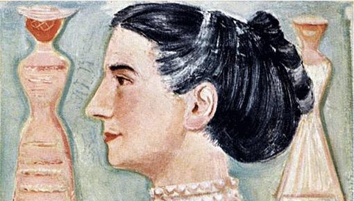 Massimo Campigli, Portrait of Germana Marucelli, 1952 | Archivio Germana Marucelli