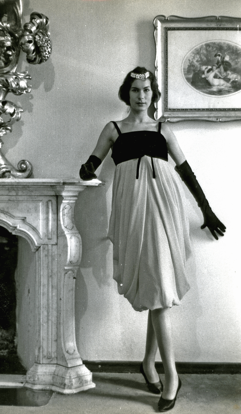 Germana Marucelli, Cocktail dress, Linea Crisalide, Fall/Winter 1956/57 | Archivio Germana Marucelli