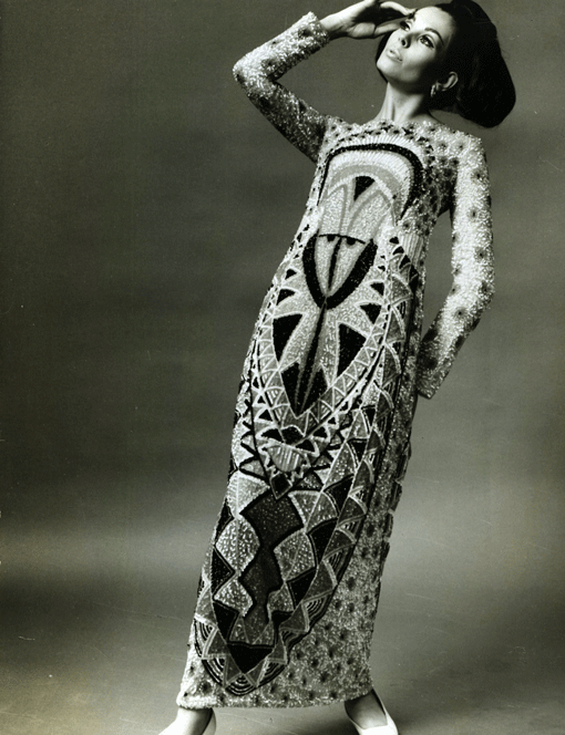 Germana Marucelli, Evening gown, Linea Totem, Fall/Winter 1967/68 | Archivio Germana Marucelli