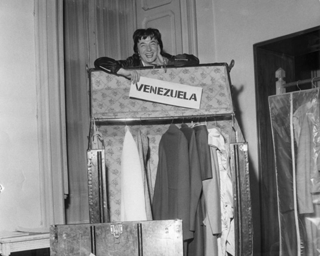 "Germana Marucelli preparing for the ""Italian Fashion Tour"" of South America © Farabola (Press photo agency) | Archivio Germana Marucelli"