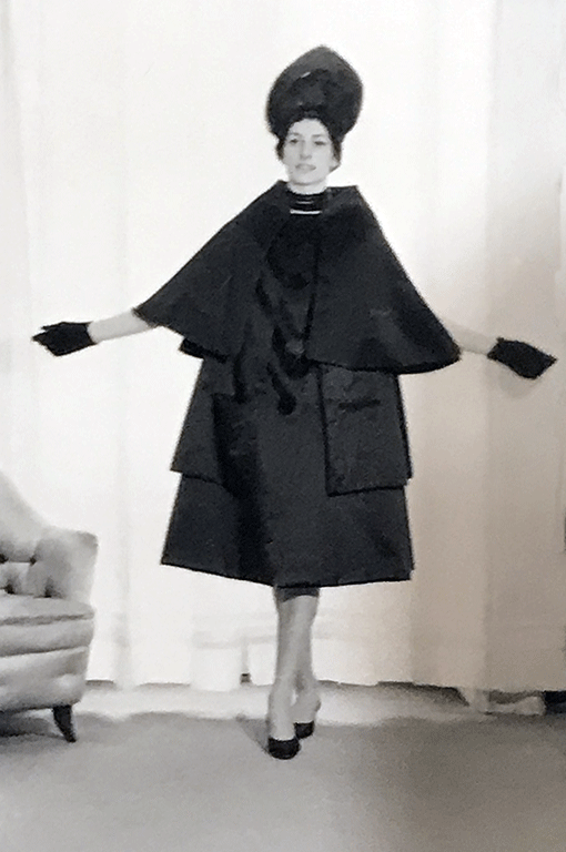 Germana Marucelli, Coat, Linea Vescovo, Spring/Summer 1960 | Archivio Germana Marucelli