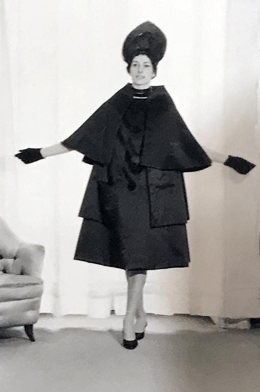 Germana Marucelli, Soprabito linea Vescovo, primavera/estate 1960 | Archivio Germana Marucelli